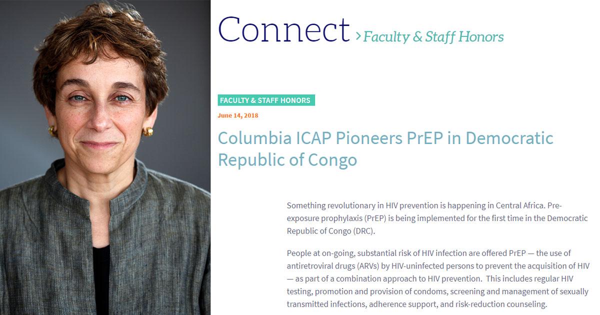 ICAP Pioneers PrEP in DRC