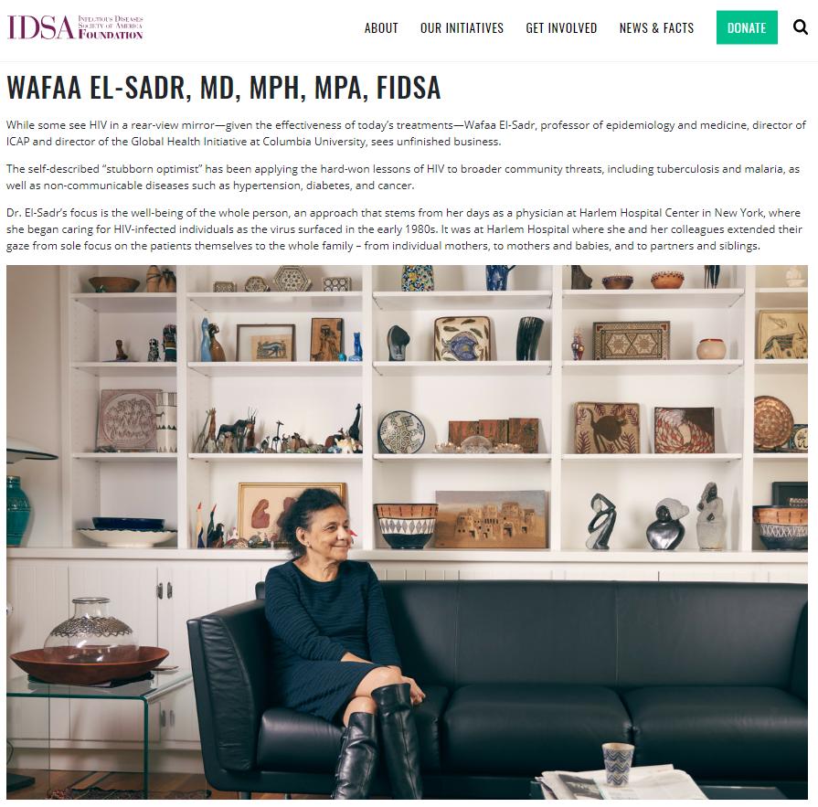 IDSA Foundation - Wafaa El-Sadr