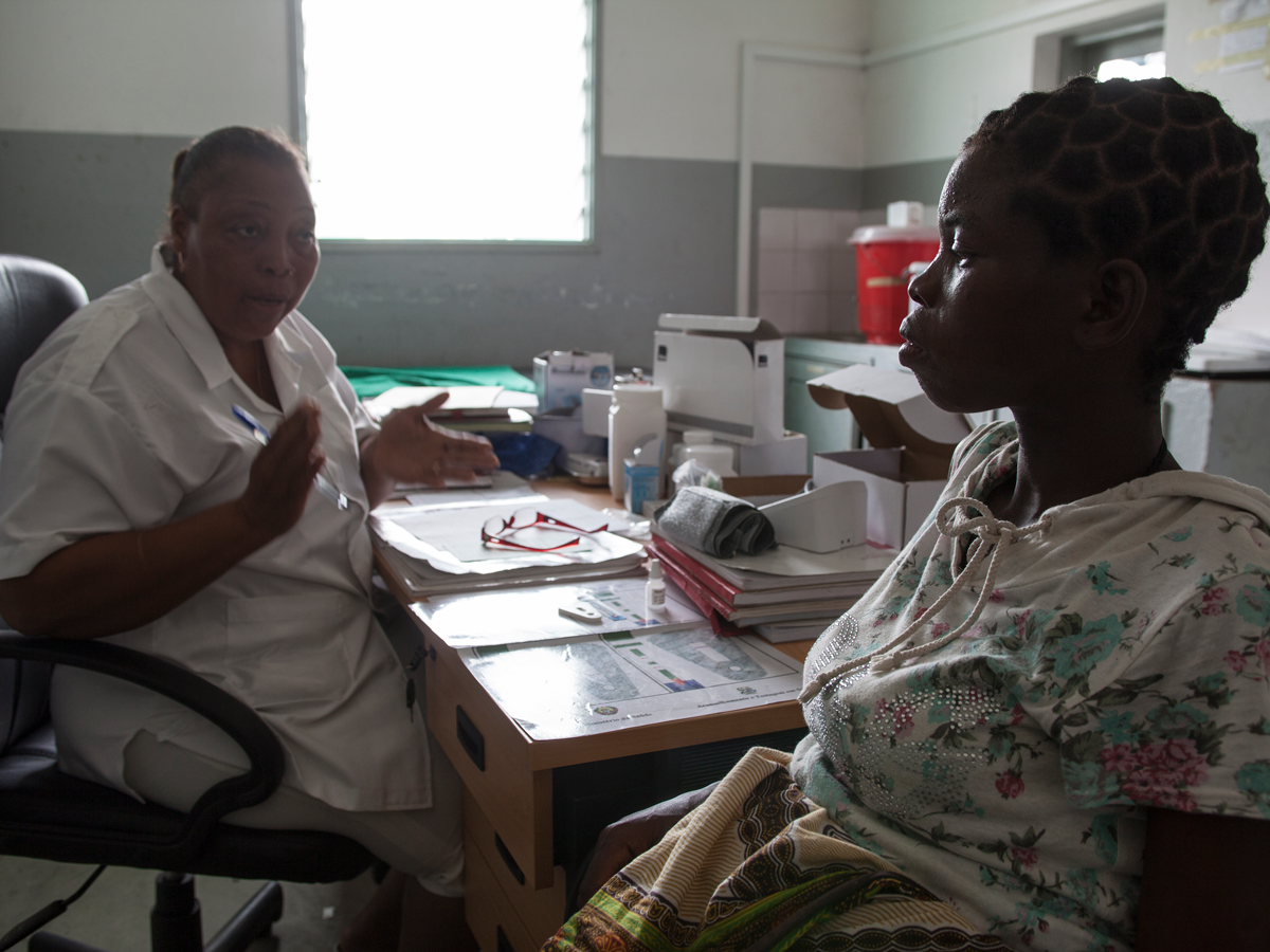 HIV counseling for pregnant women