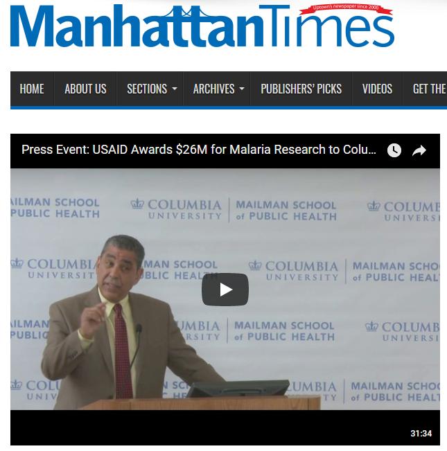 Manhattan Times Espaillat Malaria
